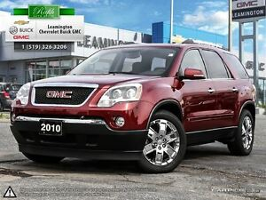 2010 GMC Acadia WOW!! JUST ARRIVED AWD SLT V6