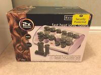 REMINGTON BRAND NEW AND UNUSED FAST HEAT IONIC ROLLERS