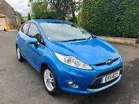 FORD FIESTA 1.4 TITANIUM 5d 96 BHP GREAT FIRST CAR, LOW MILEAGE (blue) 2011