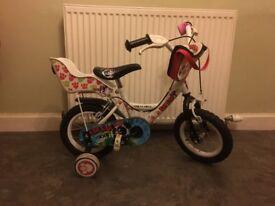 Child's bike (12 inch wheels) helmet optional