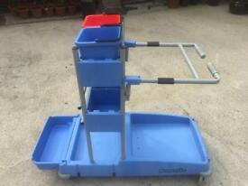 Numatic cleaning trolley