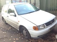 1998 Volkswagen Polo 1.4 CL 5dr White manual BREAKING FOR SPARES