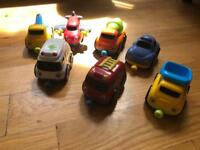 Magnetic Vehicle Toys