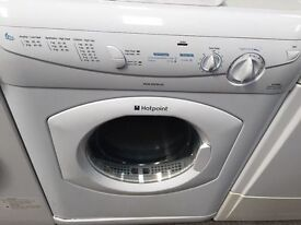*****DISCOUNTED HOTPOINT AQUARIUS 6KG REVERSE ACTION WASHING MACHINE*****