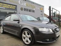 AUDI A4 2.0 TDI S line Special Edition 4dr (grey) 2007