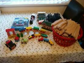 Kids Train Sets (Wooden & Plastic)