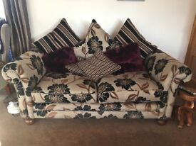3 seater,2 seater sofas and 1 chair
