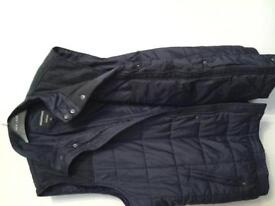 Mens gilet size 4 xl grey and blue new with tags
