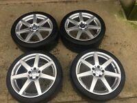 """Mercedes AMG Sport Alloy Wheels . 18"""""""