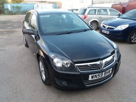 2009 Vauxhall Astra 1.4 i SXi 5dr 116k MILEAGE* NEW MOT, NEW TIMING CHAIN, JUST SERVICED,WARRANTY*
