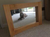 Solid Oak Mirror 500 x 700 mm