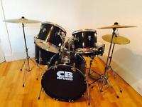 CB drum kit for sale + extras