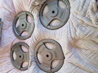 Body power cast discs/plates 4x20kg 1inch