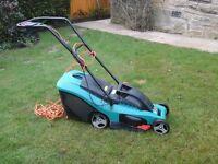 Bosch totak 34 electric lawn mower. Excellent condition