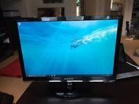 "Samsung 22"" Monitor with 2ms refresh rate"