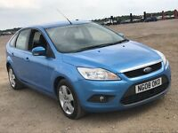 2008 FORD FOCUS 1.8 TDCI 115 STYLE DIESEL MANUAL 5 DOOR HATCHBACK BLUE NEWER SHAPE NOT GOLF ASTRA