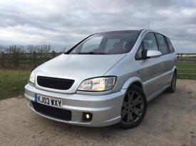 2003 Vauxhall Zafira 2.0 Turbo GSI+FSH+12 MONTHS MOT+PX+SWAP