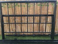 Free scrap metal/double bed frame