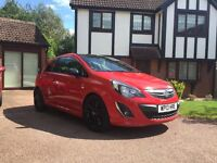 2013 Vauxhall Corsa 1.2 Limited Edition - 38000 miles