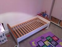 FREE kids bed (large cot size)