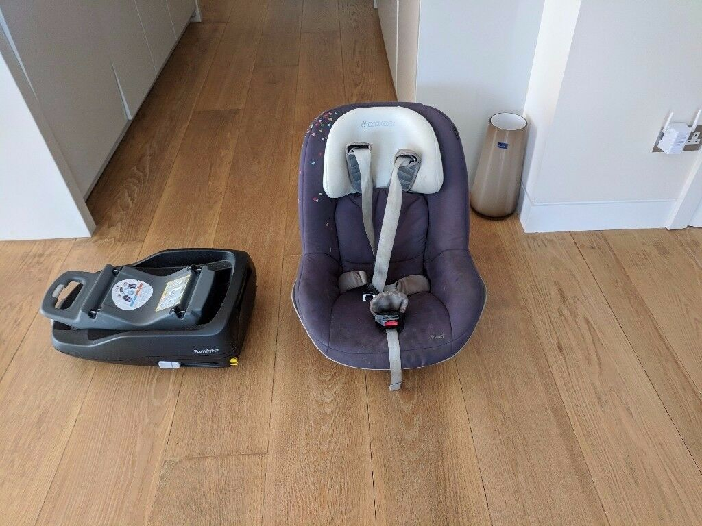 Maxi cosi car seat + Maxi Cosi family fix