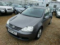 2007 (57) VOLKSWAGEN GOLF 1.9 MATCH AUTOMATIC TDI 5DR DSG DIESEL-HPi Clear