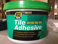 3.75kg Acrylic non slip tile adhesive