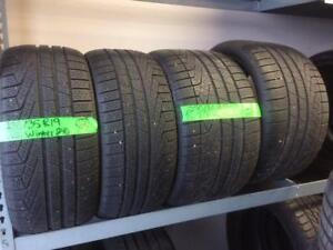 """19"""" Porsche Pirelli Winter 240 tires 235/35/19 & 295/30/19"""