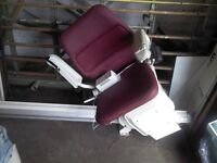 Stannah Stair Lift - 420CE - 2016 Model with 2 remote controls