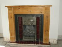 Stovax Cast Iron Art Nouveau Inset Fireplace
