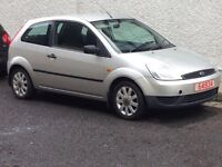 2004 FORD FIESTA 1.25 FINESSE PART EXCHANGE TO CLEAR MOT'd