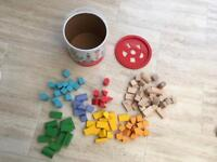 Childrens Grow & Play Colourful Block Sorter