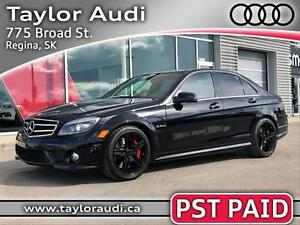 2010 Mercedes-Benz C-Class PST PAID, LOW MILEAGE, 3M, EXTRA'S