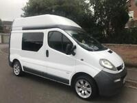 55 VAUXHALL VIVARO 1.9 CDTI HIGH TOP, 102k, IDEAL CAMPER PROJECT FULLY CARPETED IN REAR ** NO VAT **