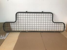 Dog Guard to fit a Land Rover Defender, with bulkhead.