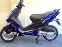 AS NEW STUNNING PEUGEOT SPEEDFIGHT IN IMMACULATE SHOWROOM COND LOW MILES HPI CLEAR FULL MOT UK DEL