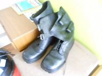 Size 10 Lace up & Buckle Next Biker Boots