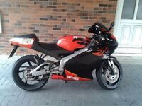Aprilia rs 125 full power