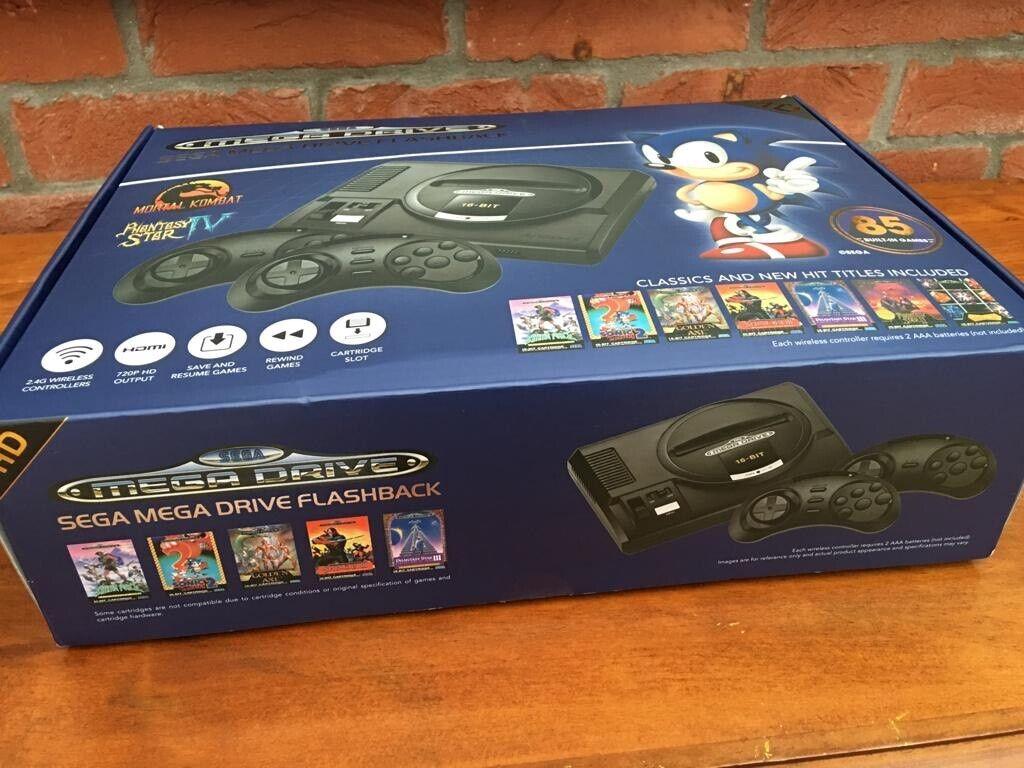Sega Mega Drive Flashback With 85 Built in Games | in Taverham, Norfolk |  Gumtree