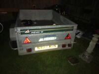6x4 tipper trailer