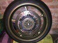 Yamaha XJ6 Diversion Front Wheel with tyre