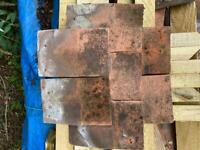 Approx. 3000 concrete Marley plain tiles for grabs