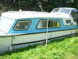 Nauticus 27 canal/river cruiser