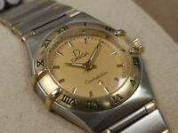 Omega Constellation Ladies Quartz Wristwatch - Bicolour
