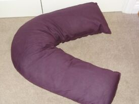 V-shaped pregnancy pillow (purple)