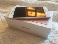 Iphone 7 32GB rose gold , ee