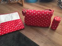 Nappy changing bag