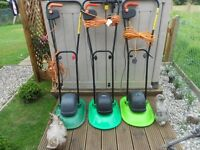 choice of three hover mowers