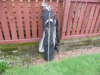 Set of Titleist DTR Golf Clubs with PING putter