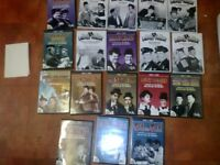dvds x18 of laurel and hardy great cond